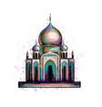 eid mubarak celebration islam ramadan kareem vector image vector image