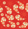 floral paisley doodle seamless pattern it is vector image vector image
