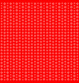 geometric background red squares of different vector image vector image