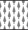 herringbone tribal pattern vector image