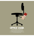 Office Chair vector image vector image