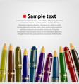 pen background vector image