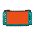 portable video game console icon image vector image vector image