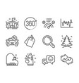 set business icons such as 360 degrees