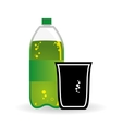 Soda design Drink concept white background vector image vector image