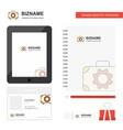 toolbox business logo tab app diary pvc employee vector image vector image