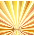 Vintage Sunburst Background vector image vector image