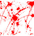 blood splatter seamless tile vector image
