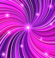 Purple abstract background with glow vector image