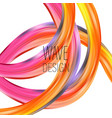 abstract colorful background color vector image vector image