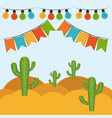 colorful background with festive decoration vector image vector image