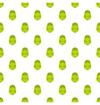 green baseball cap pattern seamless vector image vector image