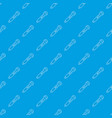 microphone pattern seamless blue vector image vector image