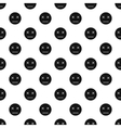 Sleeping smiley pattern simple style vector image vector image