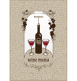 wine stone vector image vector image