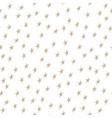 gold stars on white background vector image