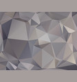 abstract triangular graphite gray brown background vector image