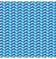 Blue ocean waves marine seamless pattern vector image vector image