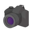 Camera icon cartoon style vector image