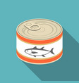 canned tuna vector image vector image