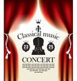 classical music vector image vector image