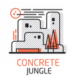 ConcreteJungle vector image