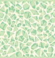 seamless geometric pattern with shapes vector image