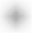 Abstract black white octagon pattern design vector image vector image