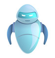assistant chatbot icon cartoon style vector image vector image