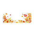 autumn abstract background with space for text vector image