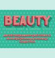 beauty fashion and wedding font