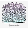 Colorful abstract hand-drawn background vector image vector image