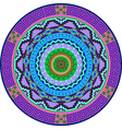 Mandala decoration design element vector image vector image
