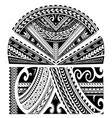 maori style sleeve ornament vector image vector image