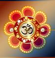 raksha bandhan festival background vector image vector image