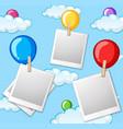 balloon in sky photo frame