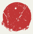 distressed red stamp14 vector image vector image
