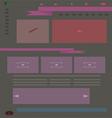 layout web mockup vector image