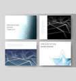 minimalistic abstract layout vector image vector image