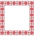 ornament square vector image vector image