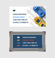 racing track road car sport track set business vector image vector image