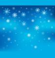 snowflake theme background 2 vector image