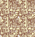 Steampunk seamless pattern vector image vector image