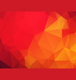 abstract red orange background vector image vector image