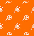 circle saw pattern seamless vector image