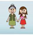 family love design vector image