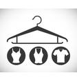Hanger design vector image