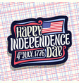 Logo for independence day usa