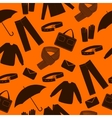 Mens wear and accessories shapes background vector image