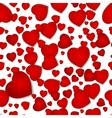 seamless pattern from hearts by a holiday vector image